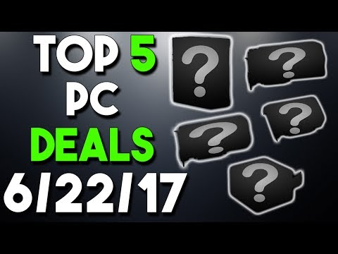 Top 5 PC Hardware Deals of the Week 6/22/17
