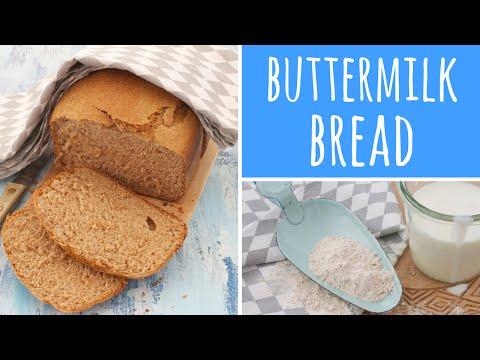 Buttermilk Wholemeal Spelt Bread Reicpe - Bread Maker / Bread Machine | Recipe Diary
