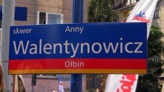 Skwer Anny Walentynowicz we Wrocławiu - relacja