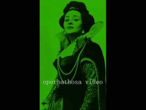 """Victoria De Los Angeles Les Contes D'hoffmann """"entr'acte....elle A Fui, La Tourterelie!"""""""