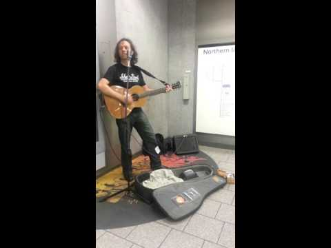 London metro  STAIRWAY TO HEAVEN... who is this musician?