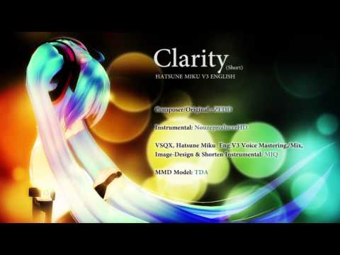 ZEDD - Hatsune Miku English V3 - Clarity (Final Mix Short Cover Test)