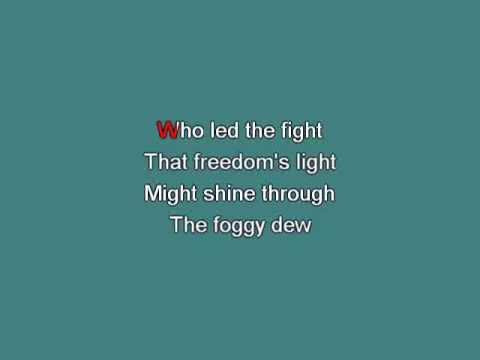 Irish trad   Foggy Dew [Karaoke]
