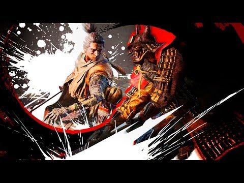 Japanese Dark Souls is EASY! (Blind Playthrough) Sekiro Shadow Die Twice GAMEPLAY