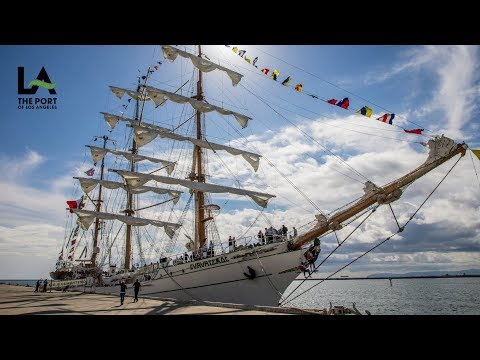 Mexico's Tall Ship Cuauhtémoc Returns to the Port of Los Angeles