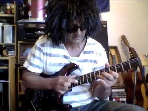 Eruption Van Halen.Levinson Blade RH4 1991 Watch the Pick