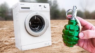 EXPERIMENT: How Strong Is The Washing Machine?