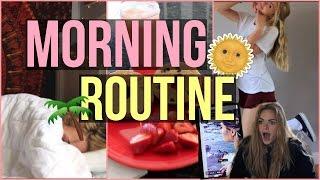 SUMMER MORNING ROUTINE+summer playlist & what's in my purse|| Summer Mckeen