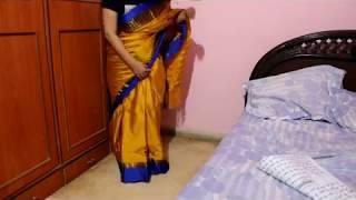 Unboxing Amazon Sari under Rs. 550 |Online Cotton Silk Sari Shopping