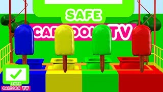 Learning Colors With Ice Cream And Ice Cream Truck | Kids Cartoon Songs For Children