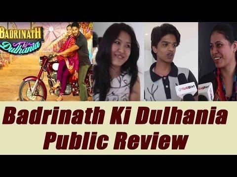 Badrinath Ki Dulhania Public Review | Alia Bhatt | Varun Dhawan | Movie Review | Boldsky