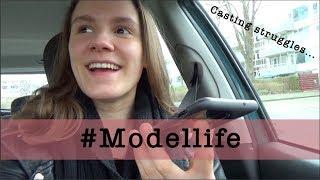 #Modellife || Te vroeg bij de casting, rijden met Uggs en hopen dat het past!