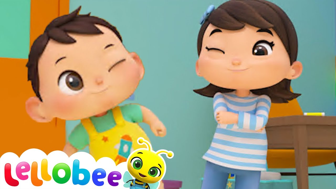If You're Happy And You Know It Song   Lellobee ABC Kids Nursery Rhymes & Kids Songs For Kids