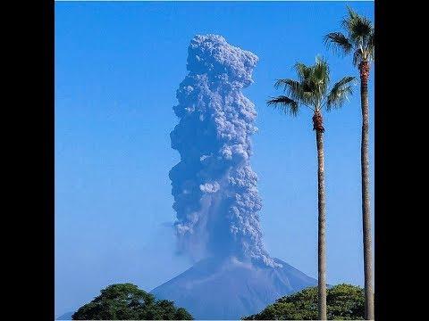 Volcano Eruption Sakurajima Japan 16th September 2019 HD 720p
