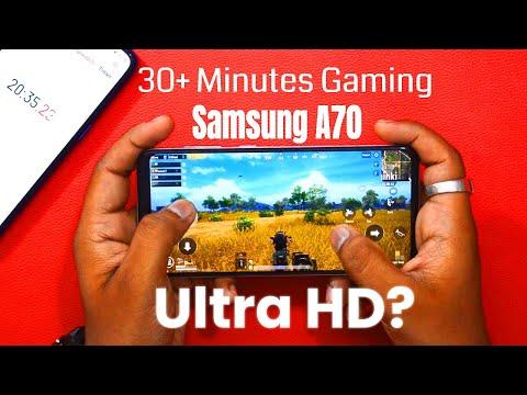 Samsung Galaxy A70 Pubg Test: 30 Minutes तक PUBG खेला? Ultra HD Mode चलेगा? - 동영상