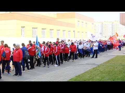 Более тысячи спортсменов из 40 городов России приехали в Тамбов на соревнования