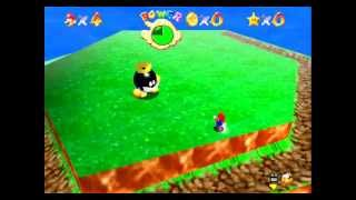 Super Mario 64 - Super Mario 64 Video Tutorial HD Game walkthrough - PART 1 - Opening & Course 1 Big Bob-omb - User video
