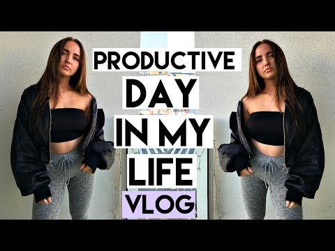 PRODUCTIVE DAY IN MY LIFE! | Kenzie Elizabeth