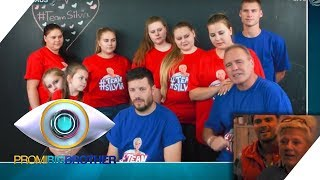 Famile Wollny sendet Grüße ins Haus | Tag 8 | Promi Big Brother 2018 | SAT.1