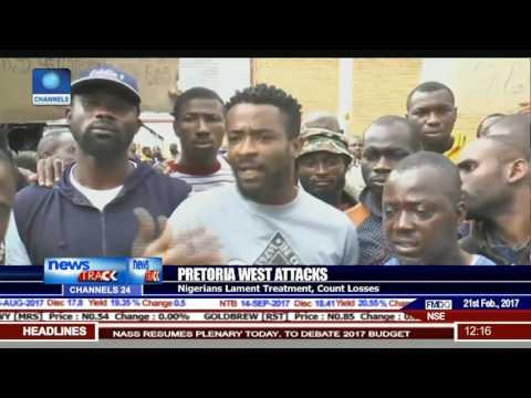 Pretoria Attacks: Nigerian Mission Visits Affected Nigerians