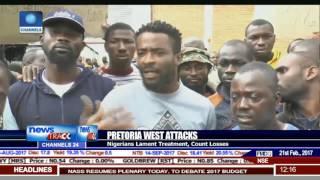 Pretoria Attacks: Nigerian Mission Visits Affected Nigerians