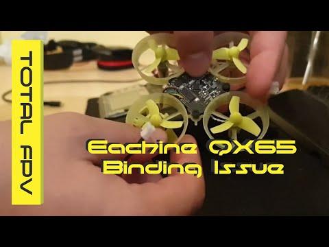 Eachine QX65 Binding Issue