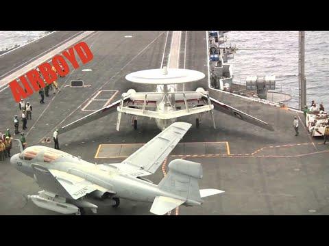 Carrier Ops USS Enterprise (CVN-65)