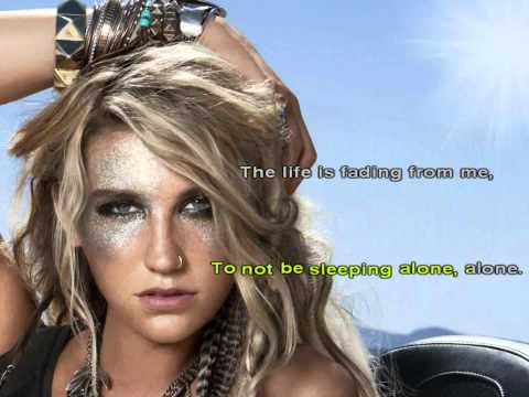 Ke$ha/Kesha - The Harold Song [Karaoke/Instrumental] With Lyrics