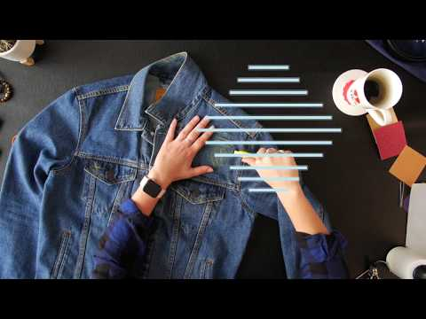 How to Perfectly Distress a Denim Jacket | Ties.com