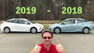 2019 Prius vs 2018 Prius: You Decide Who Wins!