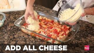 How to make chicken parmesan casserole