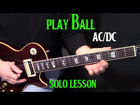 how to play the guitar solo to