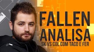 FalleN ANALISA - SK vs coL com fer e TACO (Overpass)