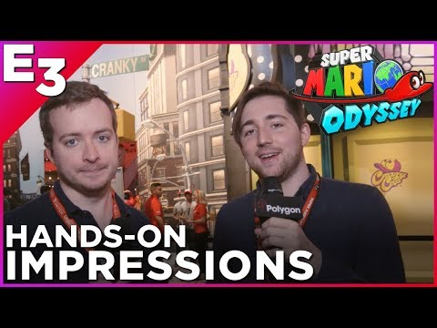 SUPER MARIO ODYSSEY: Nick and Griffin's Favorite Game of E3 2017! Hands-On Gameplay Impressions