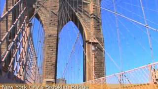 Video New York City's Brooklyn Bridge - 2 Minute Tour download MP3, 3GP, MP4, WEBM, AVI, FLV Juni 2018