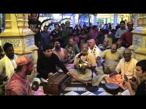 24Hours Kirtan Iskcon Vrindavan (H.G.Agni Dev Prabhu)