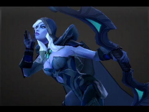 Drow Ranger Taunt Keep An Ear Out Youtube