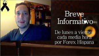 Breve Informativo - Noticias Forex del 29 de Octubre 2018