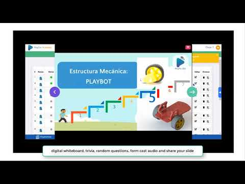 Playtec Academy - Interactive Education 4.0 platform for Tea