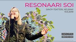Resonaari soi LIVE (maanantai 13.5.2019)