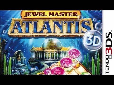 Jewel Master Atlantis 3D Gameplay (Nintendo 3DS) [60 FPS] [1080p]