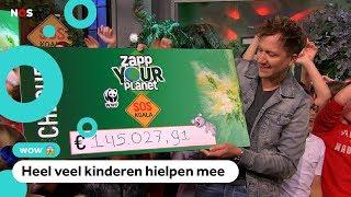 Ruim 145.000 euro opgehaald met Zapp Your Planet