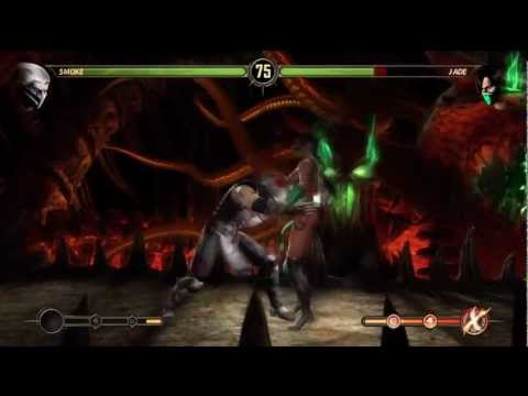 Mortal Kombat - Smoke Combos and Moves Tutorial