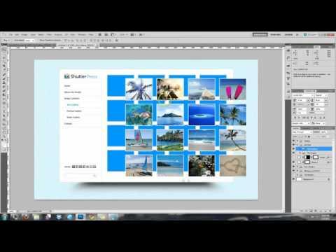 ShutterPress: Design & Code A Photo Portfolio Site (Day 1: Design)