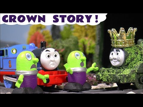 Thomas & Friends Crown Prank with Tom Moss The Prank Engine and the funny Funlings TT4U