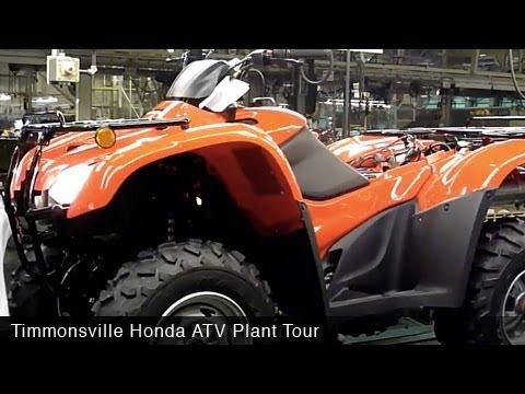 MotoUSA Honda ATV Timmonsville Factory Tour
