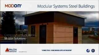 OPALON Prefabrik Yapılar Çelik Modül Hazır Bina Modüler MODON