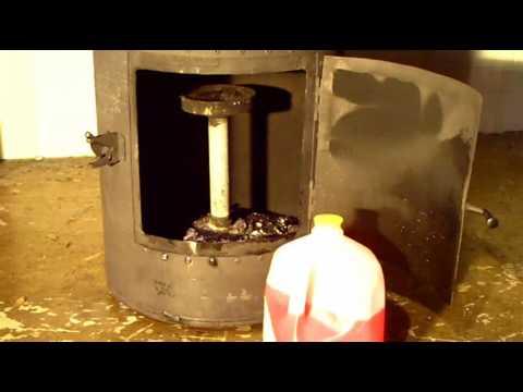 Drip Feed Waste Oil Heater Youtube