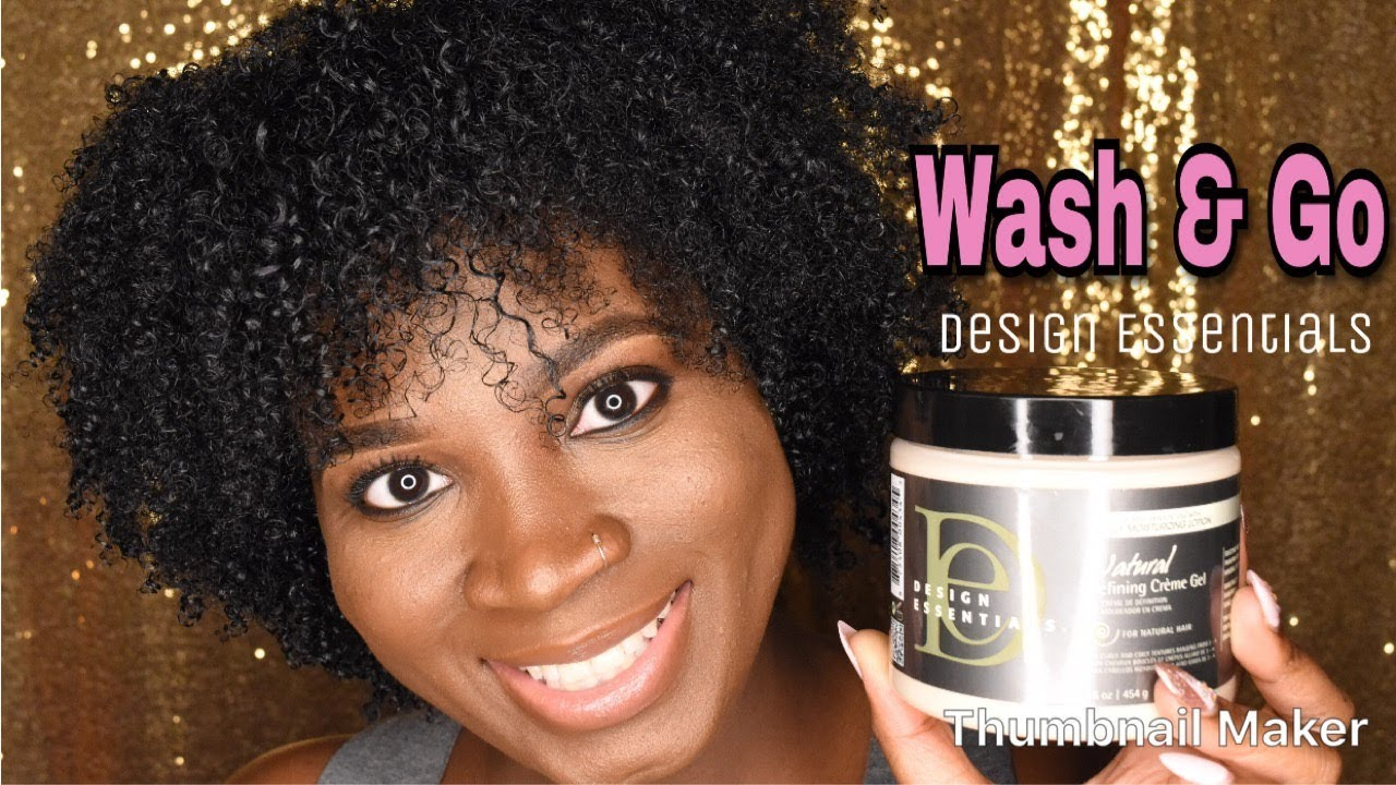 Design Essentials Natural Defining Creme Gel Wash Goreview
