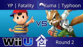 Typo @ The Lab 8/24/17 - YP | Fatality (Ness) vs Kuma | Typhoon (Fox) - Smash 4 Round 2